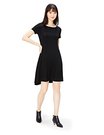Image result for Amazon Brand - Daily Ritual Women's Jersey Sleeveless Gathered Dress