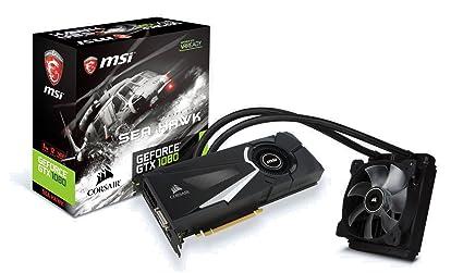 MSI GeForce GTX 1080 Sea Hawk X - Tarjeta gráfica ...