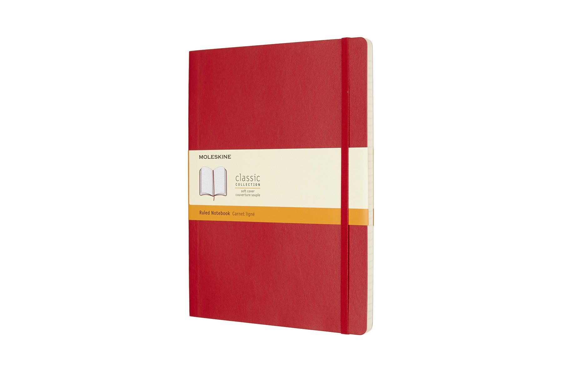 Moleskine Classic Soft Cover Notebook, Ruled, XL (7.5 (D8LO)