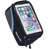Fafada 5,5 Inches/ 4,8 Inches Fahrrad Tasche Case Schutz Halter Oberrohr Handy Hülle Cover für Iphone6/ Iphone6s Samsung HTC Rot