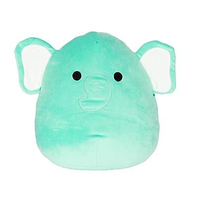 "Squishmallow Kellytoy 12"" Diego The Blue Elephant Super Soft Plush Toy: Toys & Games"