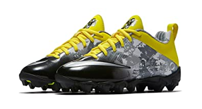 Nike Youth's Doernbecher Oregon Ducks Vapor Shark 2 BG Football Cleats  Black/Yellow-Strike