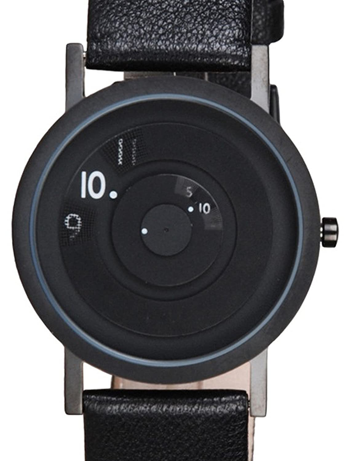 Projects Watch - Reveal Black-Leather (40mm)