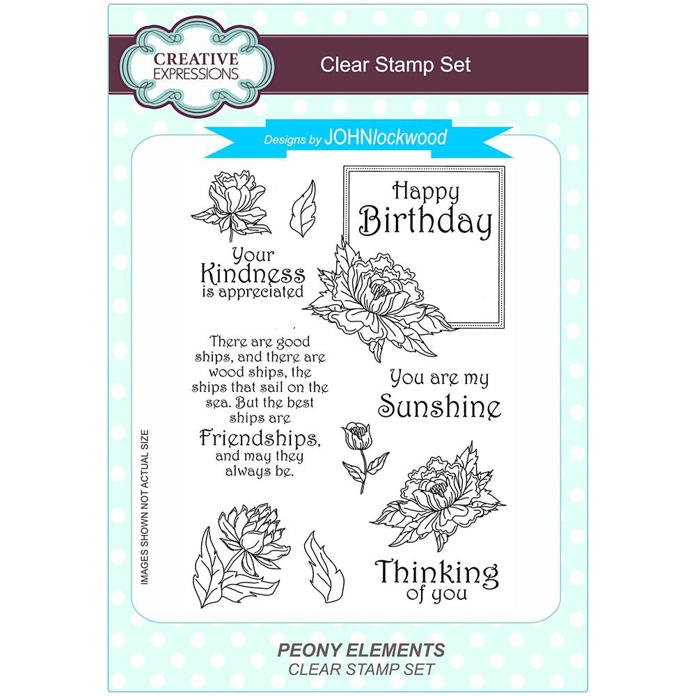 Creative Expressions Polymer Stamp, A5 CEC778