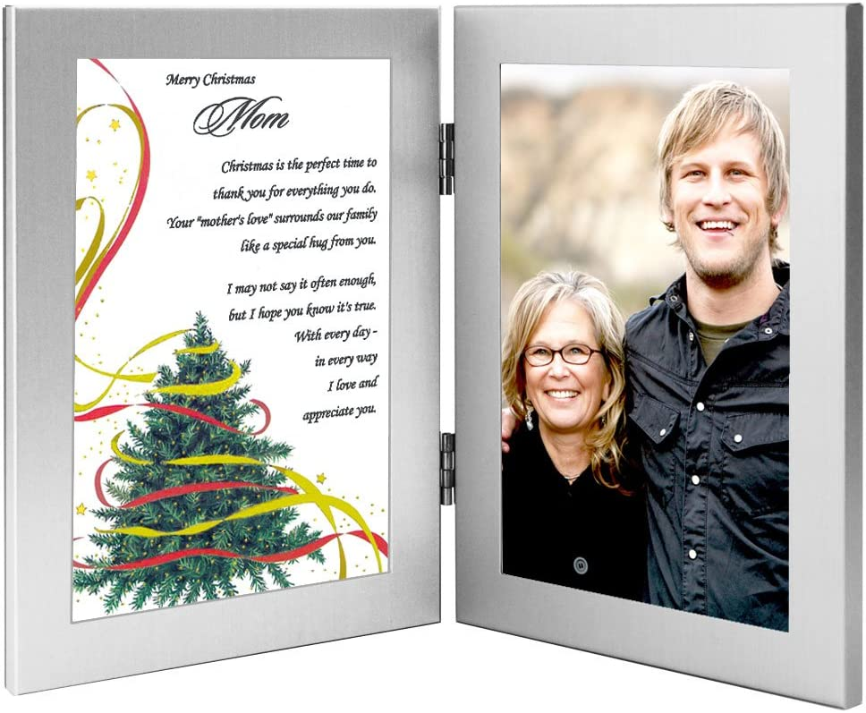 Amazon Com Merry Christmas Mom Gift Mother Poem From Son Or Daughter In Frame Add Photo His cheeks were like roses, his nose like a cherry! merry christmas mom gift mother poem from son or daughter in frame add photo