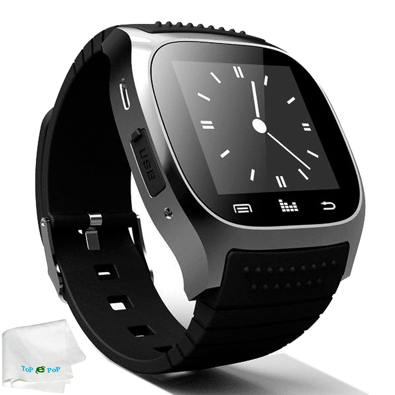 Amazon.com: Bluetooth Smart Watch Touch Screen Smartwatch ...