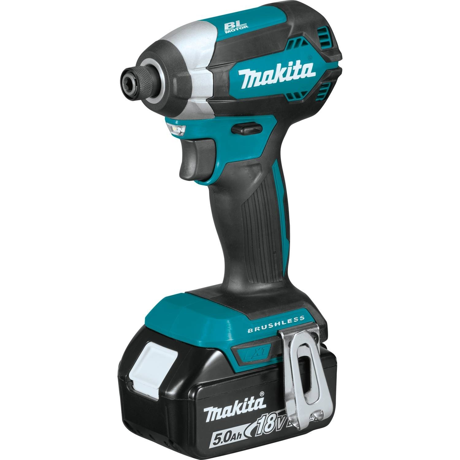 Makita Maktia XDT13T 18V LXT Lithium-Ion Brushless Cordless Impact Driver Kit 5.0Ah