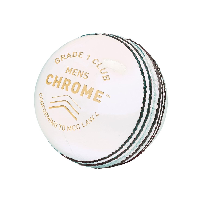 GM Chrom Stufe 1 Herren Club Cricket-Ball, Herren, Chrome Grade 1 Club Rose Gunn & Moore 3006PK01