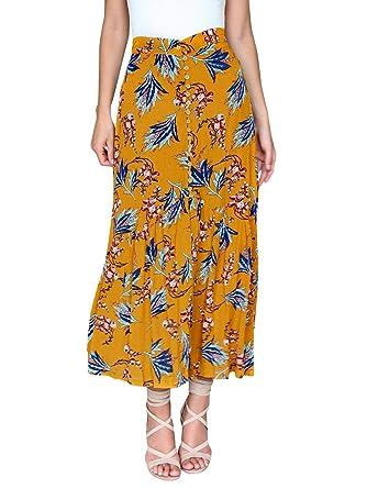Faldas para Mujer Casual Moda Falda De Verano para Mujer Moda ...