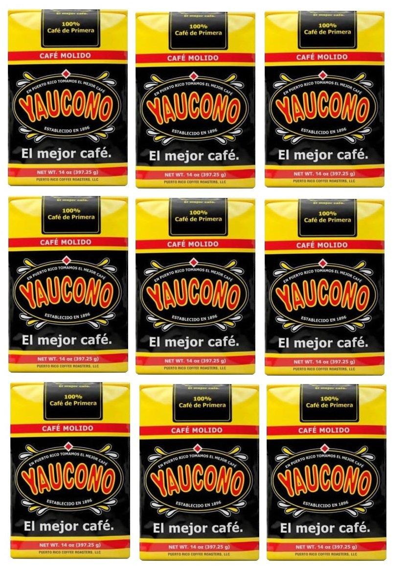 Yaucono Coffee 9 Bags (14 Oz)