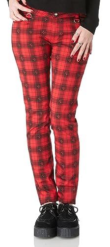 Jawbreaker - Pantalón - Cuadrados - para mujer