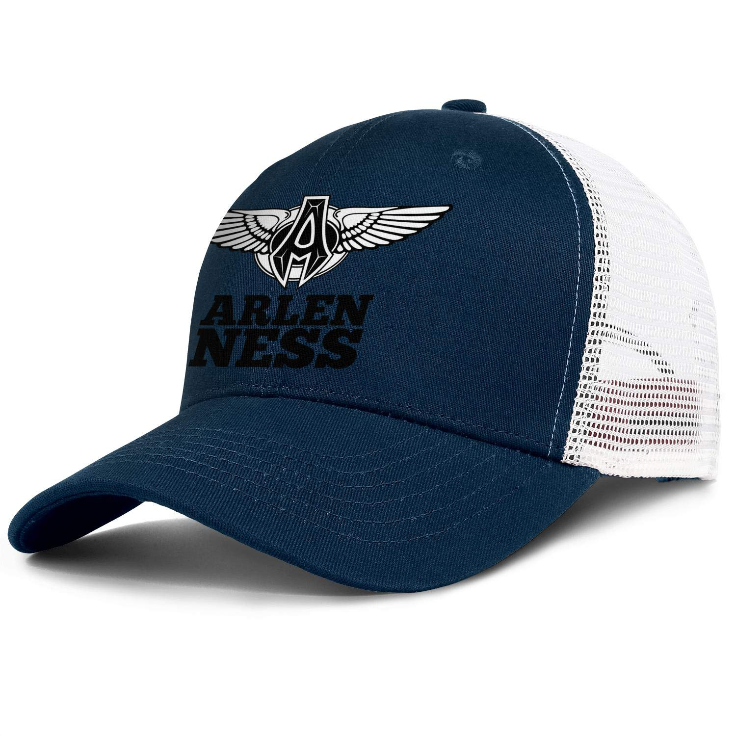 Arlen Ness Mens Womens Mesh Back Running Trucker Caps Classic Sun Hat