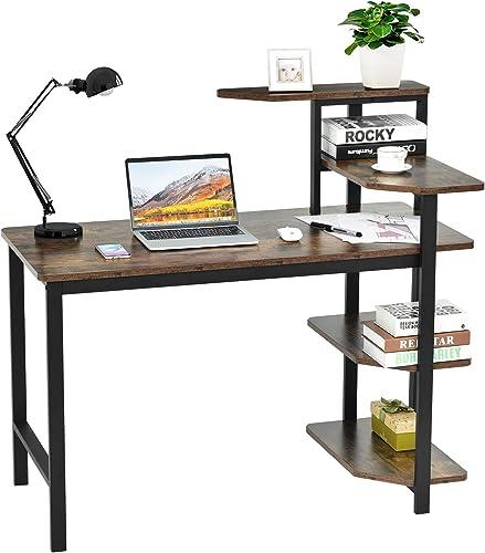 Tangkula Industrial Computer Desk