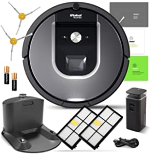 Amazon.com - iRobot Roomba i7 (7150) Robot Vacuum Bundle- Wi-Fi ...