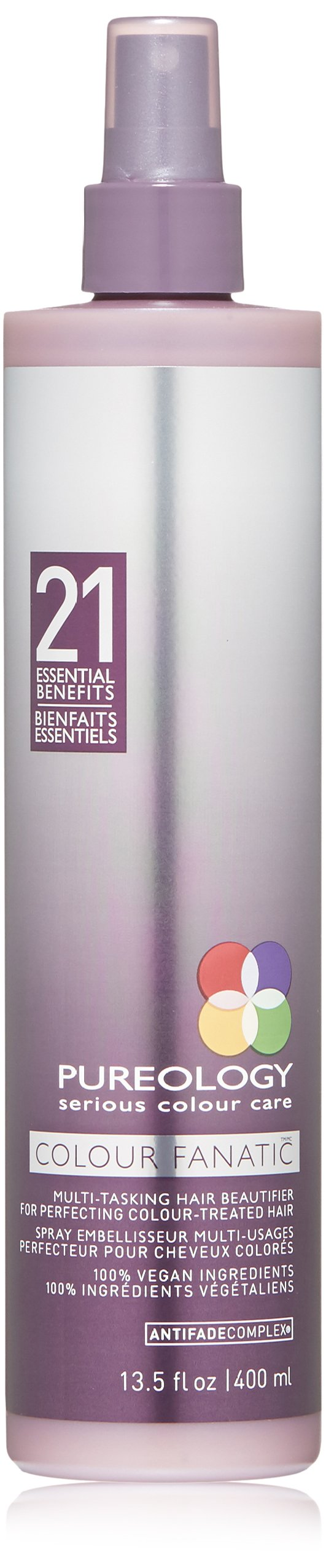 PUREOLOGY Colour Fanatic Multi-Tasking Hair Beautifier, 13.5 fl. Oz. by Pureology