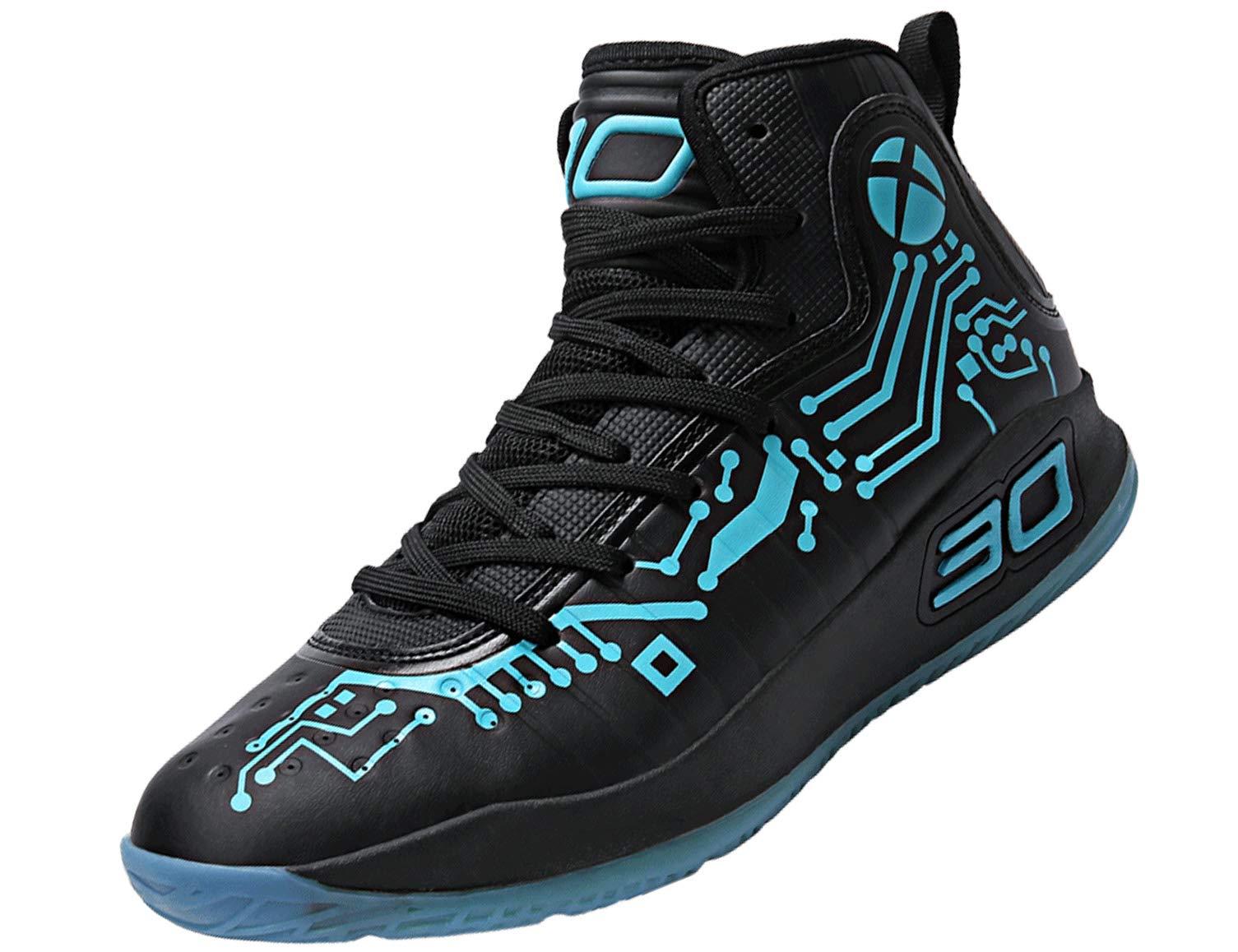 b5625736e72 SINOES Hombre Zapatillas de Baloncesto Calzado Deportivo Al Aire Libre Moda  High-Top Sneaker Antideslizante