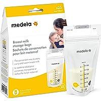 Medela Inc Breast Milk Storage Bags, White, 25 Count