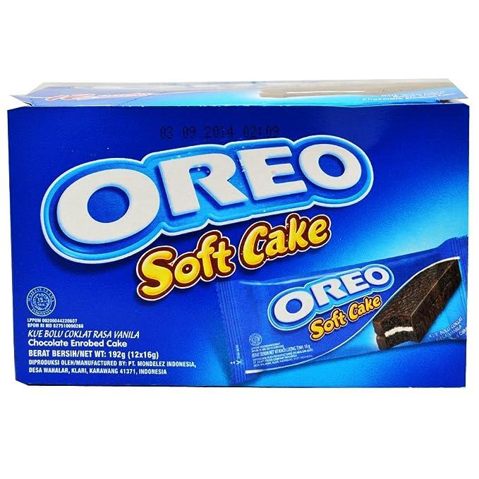 oreo 192g kraft oreo soft cake pack of 12 piece amazon in