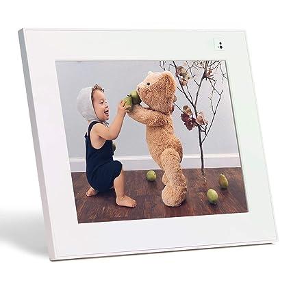 "Aura Digital Photo Frame, 10"" HD Display, 2048 x 1536 Resolution with Free  Cloud Storage, Oprah's Favorite Things List 2018, Stardust WiFi Smart"