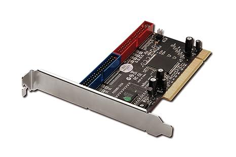 Digitus IDE ATA133 Raid Controller Tarjeta y Adaptador de Interfaz - Accesorio (PCI, Silicon Image 0680, 0, 1, 0+1, JBOD, Negro, 66 Mbit/s, Alámbrico)