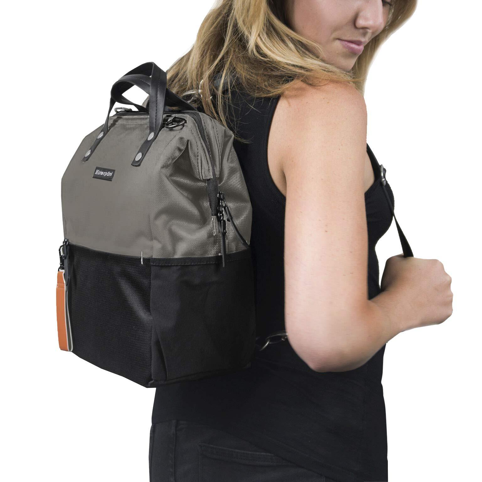 Sherpani Women's 18-dispa-04-11-0 Travel Cross-Body Bag, Flint, One Size by Sherpani (Image #5)