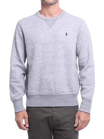 f292a50bf5814 Polo Ralph Lauren - Sweat Autres Cols Hommes - 710717112-004 - XL Gris Chine