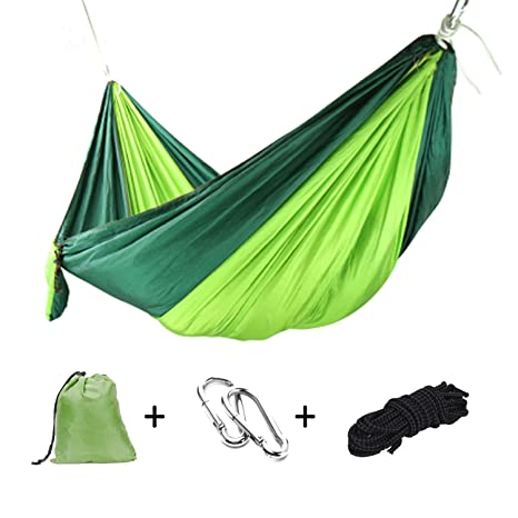 Camping & Hiking Sleeping Bags Portable Outdoor Camping Hammock With Mosquito Net Parachute Fabric Simple Tent In The Tree Outdoor Travel Picnic Hiking Bright In Colour