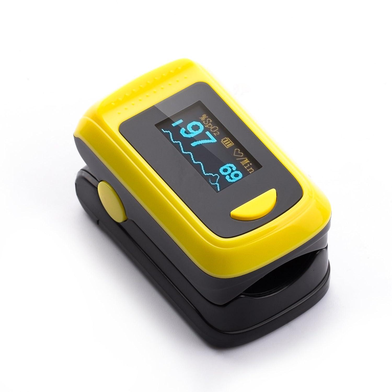 Herbie Life® HL-100A Dedo Oxímetro de Pulso: Amazon.es: Salud y cuidado personal