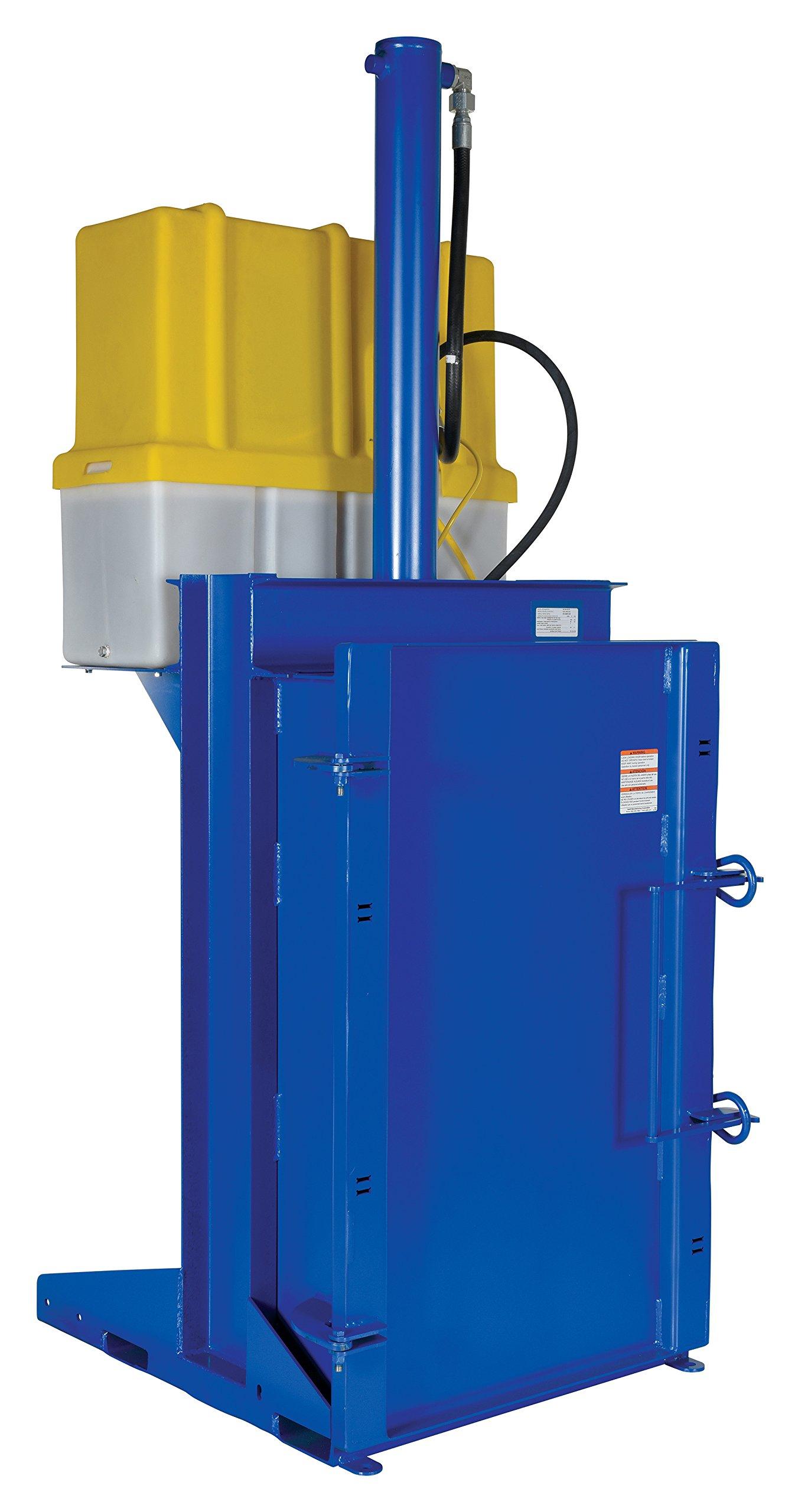 Vestil HDC-905-IDC/230V Hydraulic Drum Crusher/Compactor, 38.19'' Length, 230V