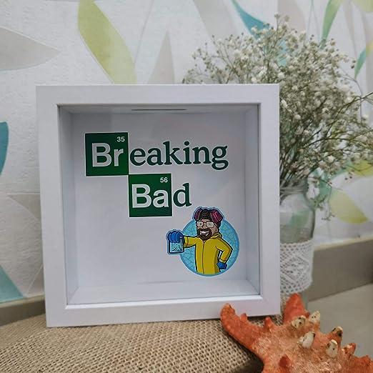 Breaking Bad Hucha de Madera y Cristal Regalo cumpleaños ...