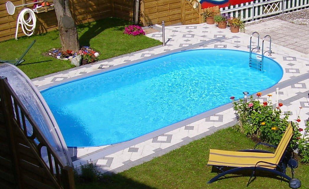 Miganeo® – piscina enterrada ovalada, serie Styria Oval, piscina ...