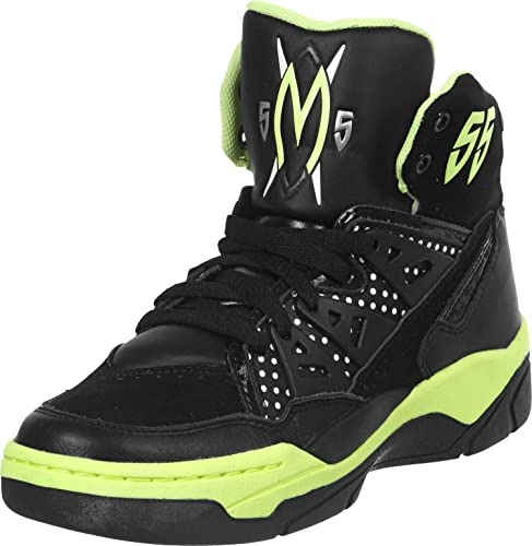 Adidas - Mutombo EF W - D65177 - Color  Black-Yellow - Size  9.0 ... 3328e428f