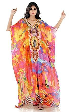 1889b43d0b Silk kaftan Online one Piece Dress Hand Made/Formal/ Caftan Beach ...