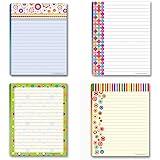 amazon com personalized teacher notepad set set of 4 100 sheet