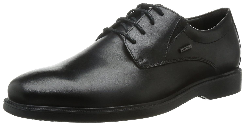 TALLA 39 EU. Geox U Brayden 2Fit ABX C, Zapatos de Cordones Derby para Hombre