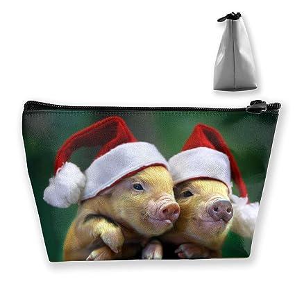 Pigs Wear Sombreros de Navidad Almacenamiento trapezoidal ...