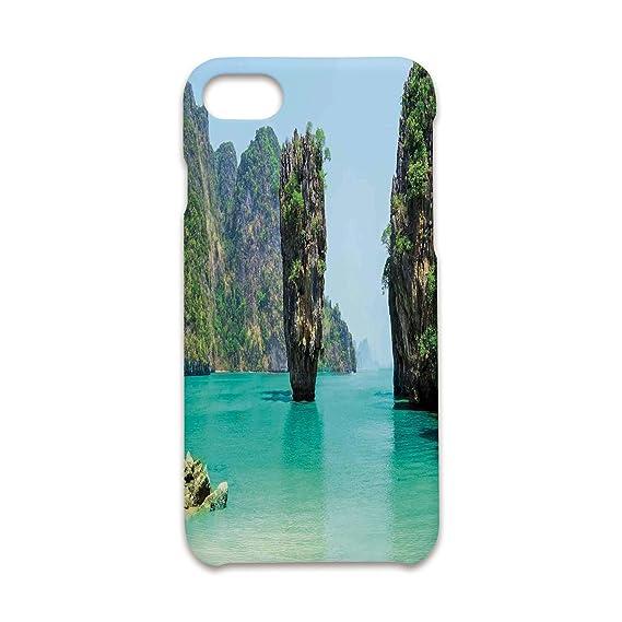 meet fdbde 01e83 Amazon.com: Case Compatible iPhone 8/7 Durable Hard Case Cover,Ocean ...