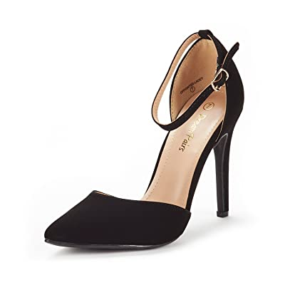 DREAM PAIRS Women's Oppointed-Lacey Pump Shoe | Pumps
