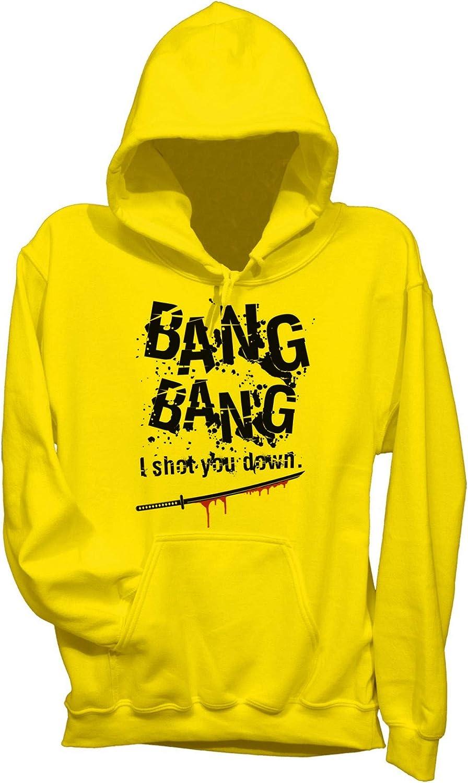 Felpa Cappuccio Kill Bill Bang Bang Song Soundtrack Film Choose ur Color