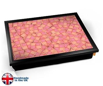 Amazon.com: KICO Battenberg dulces galletas rosa cojín ...