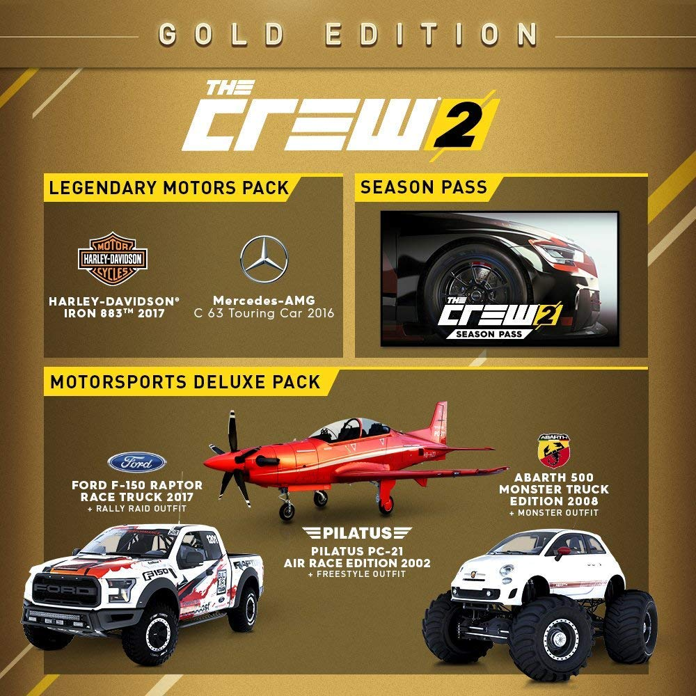 The Crew 2 GOLD Edition - Xbox One [Digital Code] by Ubisoft (Image #4)