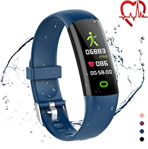 moreFit Kids Fitness Tracker Watch, Updated Heart Rate Monitor Activity Tracker Kids Pedometer Watch with Swimming Modes, Calorie Sleep Health Tracker as for Young Boys Girls