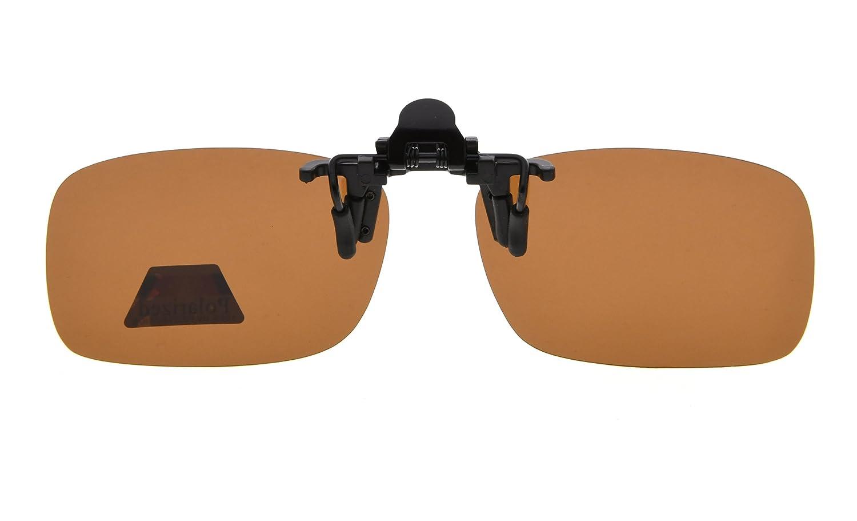 260bcf662c14 Eyekepper Flip-up Clip-on Sunglasses Polarized 2 5 16