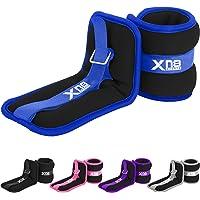 Xn8 Enkelgewichten Neopreen Gewichtsmanchetten Set Van 2, Polsgewichte 0.5kg-3kg Voor Joggen, Hardlopen, Fitnesstraining…