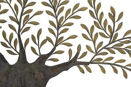 Amazon.com: Deco 79 68501 Metal Olive Tree Wall Decor, 94 by 42-Inch ...