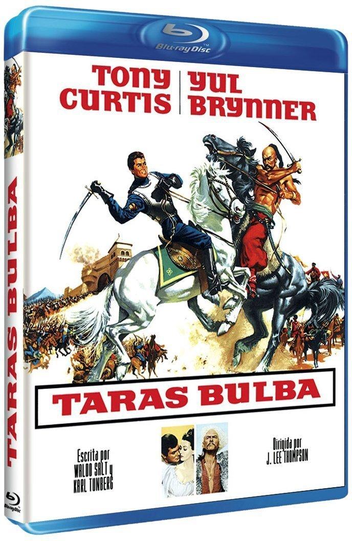 Taras Bulba (1962) [ Blu-Ray, Reg.A/B/C Import - Spain ]