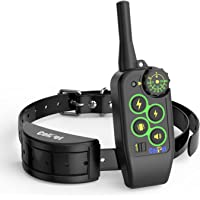 ColPet Dog Training Collar Rechargeable and Rainproof 1000 yard Knob Control