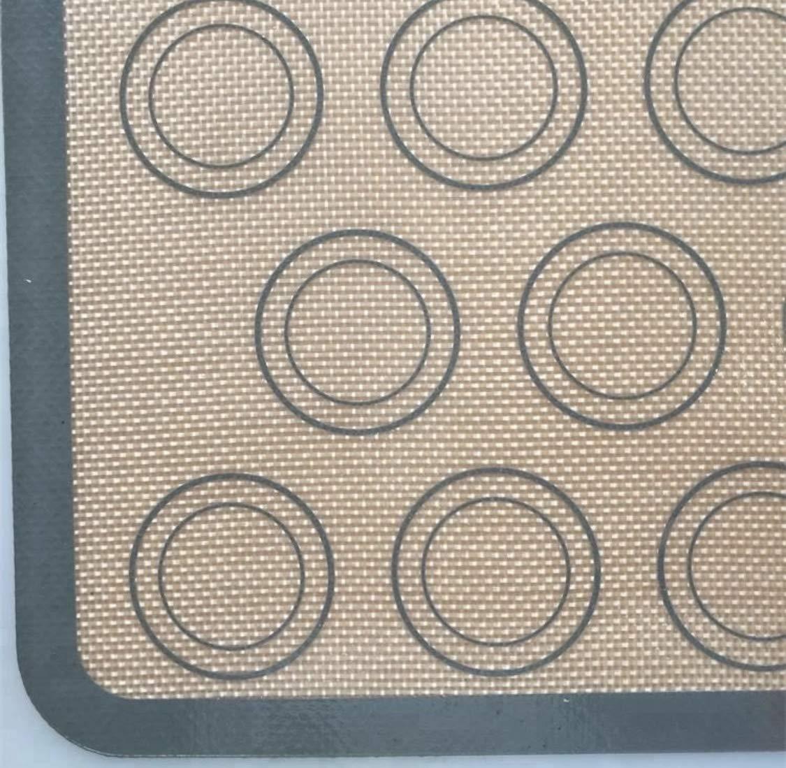 Silicone Macaron Baking Mat- COMETA - 2-Pack silicone fiberglass baking mat silicone baking mat by Cometa