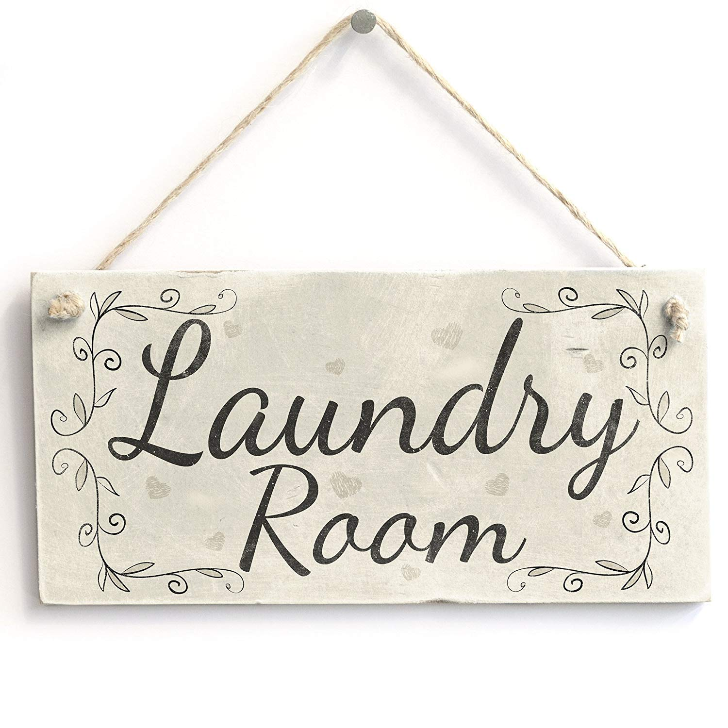 Amazon.com: LOUISF Laundry Room - Handmade Rustic Country ...