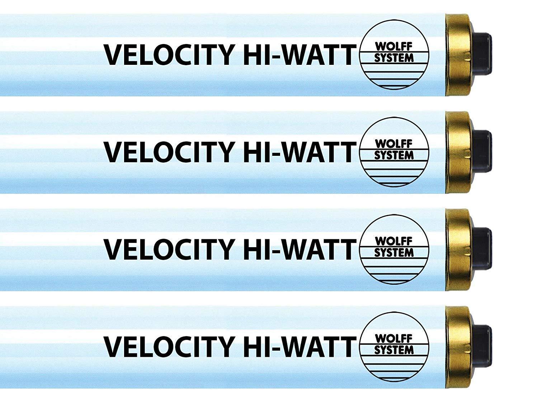 Wolff Velocity Hi-Watt F73 HO 100-120W RDC Tanning Lamp